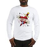 Meh Tattoo Long Sleeve T-Shirt