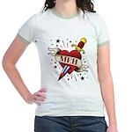 Meh Tattoo Jr. Ringer T-Shirt