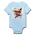 Meh Tattoo Infant Bodysuit