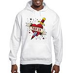 Meh Tattoo Hooded Sweatshirt