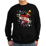 Meh Tattoo Sweatshirt (dark)