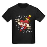 Meh Tattoo Kids Dark T-Shirt