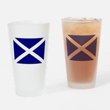 Flag of Scotland Drinking Glass