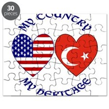 Turkey Country Heritage Puzzle