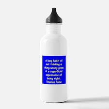 thomas paine Water Bottle