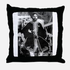 Cute Rastafarian Throw Pillow