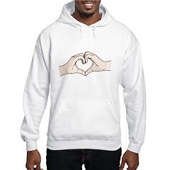 Heart Hands Hoodie