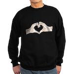 Heart Hands Sweatshirt (dark)