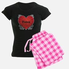 Custom Name Tattoo Heart Pajamas