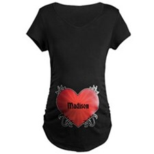 Custom Name Tattoo Heart T-Shirt