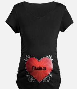 Custom Name Tattoo Heart T-Shirt