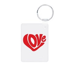 Cute I Heart Love Valentines Day Keychains