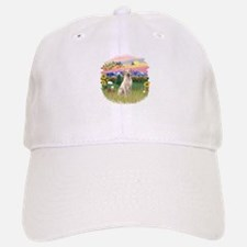 Mt. Country - Yellow Lab #8 Baseball Baseball Cap