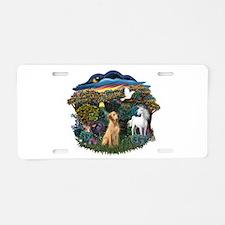 Woodland Magic-Lab (Y8) Aluminum License Plate