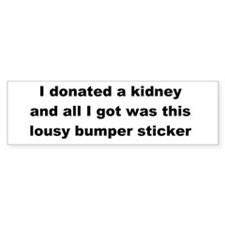 Car Sticker Lousy Bumper Sticker
