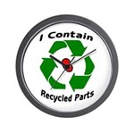 Wall Clock I contain recycled parts - kidney