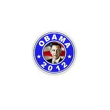 Obama 2012 Mini Button