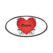 Custom Name Tattoo Heart Patches