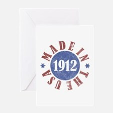 1912 Made In The USA Greeting Card