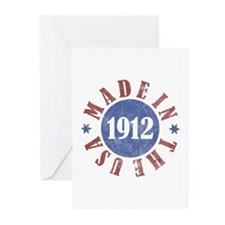 1912 Made In The USA Greeting Cards (Pk of 10)