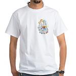 West Coast Tattoo White T-Shirt