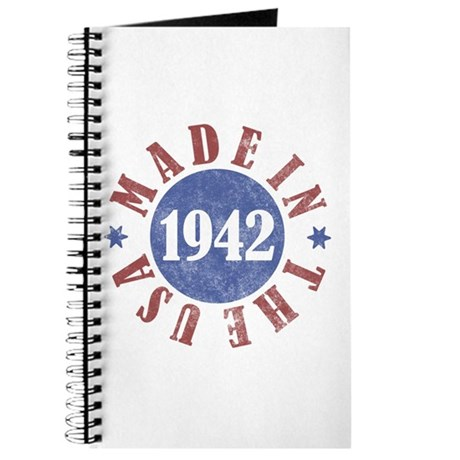 1942 Made In The USA Journal