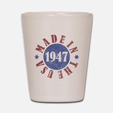 1947 Made In The USA Shot Glass
