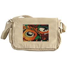 Mayan Eyes Messenger Bag