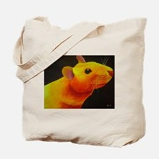 Golden Rat Tote Bag