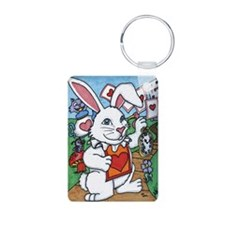 Funny The mad bunny Keychains