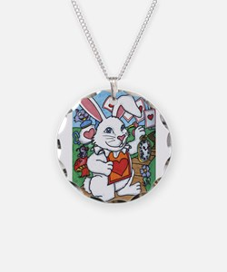 Cute The mad bunny Necklace