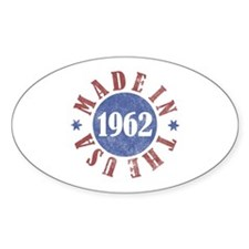 1962 Made In The USA Decal