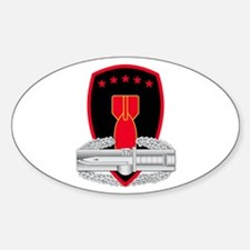 71st EOD CAB Sticker (Oval)