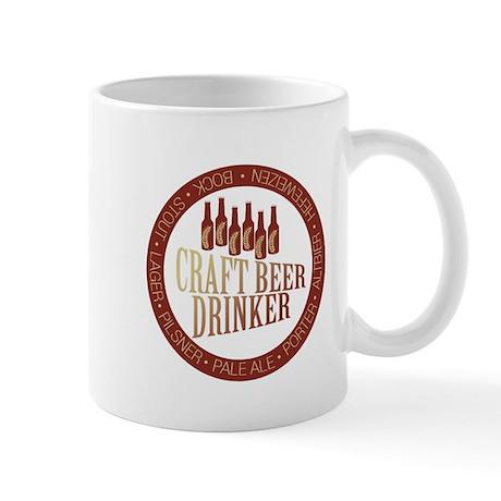 Craft Beer Drinker Mug