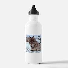 Wolf YNP, Wyoming Water Bottle