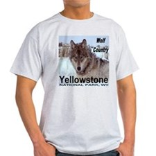 Wolf YNP, Wyoming T-Shirt