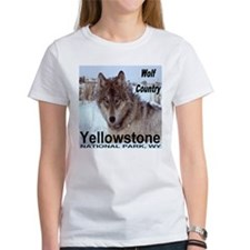 Wolf YNP, Wyoming Tee