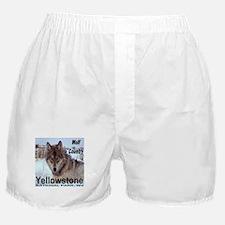 Wolf YNP, Wyoming Boxer Shorts