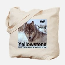 Wolf YNP, Wyoming Tote Bag