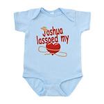 Joshua Lassoed My Heart Infant Bodysuit