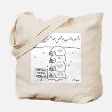 Central Air in Igloos Tote Bag
