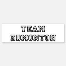 Team Edmonton Bumper Bumper Bumper Sticker