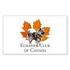Eurasier Club of Canada (ECC) Decal