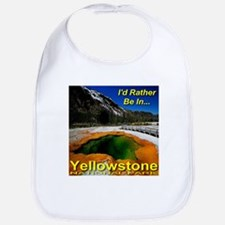 I'd Rather Be In Yellowstone Bib