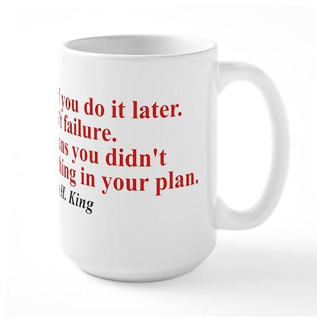 Later Large Mug