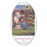Blindman's Buff Sticker (Oval 10 pk)