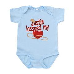 Justin Lassoed My Heart Infant Bodysuit