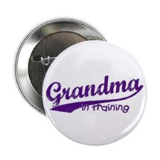 Grandma in Training Button