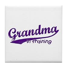 Grandma in Training Tile Coaster