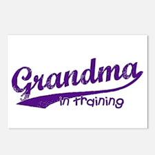 Grandma in Training Postcards (Package of 8)